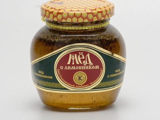 Мед с лимонником 0,25 кг