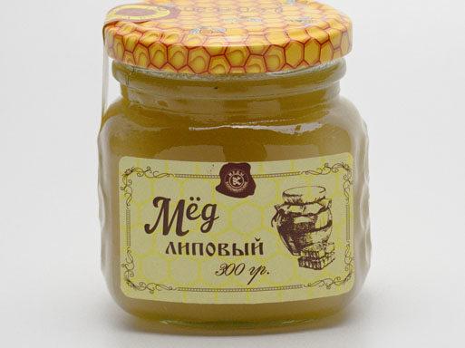 Мед липовый 0,3 кг