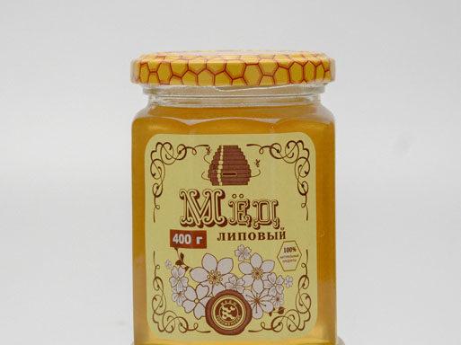 Мед липовый 0,4 кг