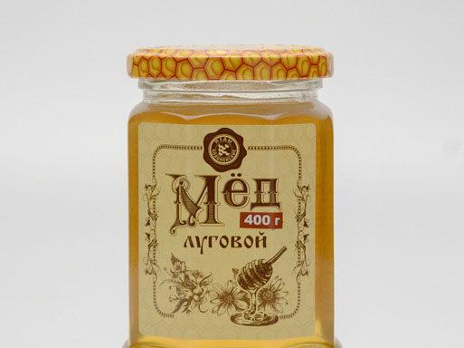 Мед луговой 0,4 кг